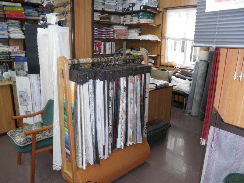 Confecci n de cortinas a medida en cantabria colindres - Confeccion de estores ...